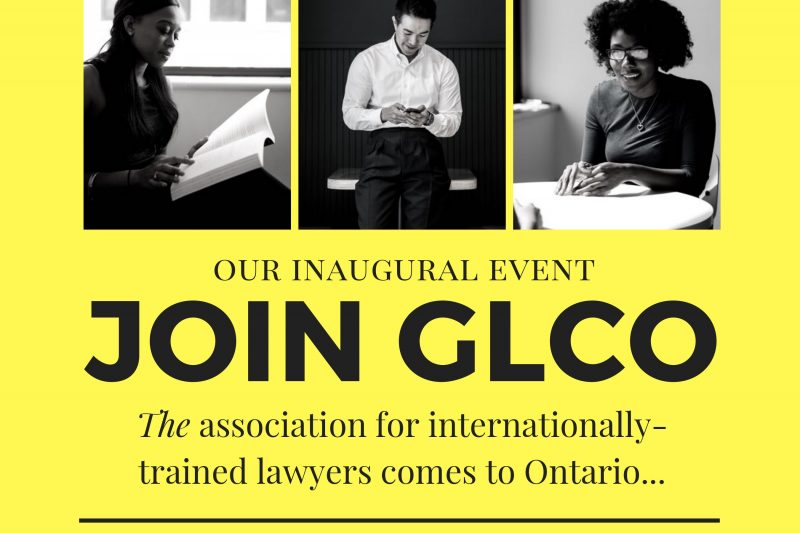 GLC is launching in Ontario, we look forward to meeting you there!